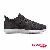 SAUCONY EROS 輕運動休閒鞋款-黑x條紋