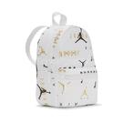 Nike 包包 Jordan 男女款 白 金 滿版 外出 輕便 後背包 肩背包 迷你包 喬丹【ACS】 JD2143005TD-002