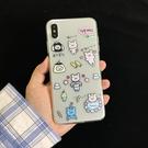 蘋果iphone11pro手機殼xr/xsmax/7/8plus日系卡通6s可愛小熊