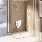 玄關門口摺疊座椅換鞋壁凳走廊衛生間洗澡淋浴房沖澡浴室廁所牆凳AQ 有緣生活館