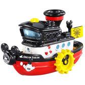 TOMICA 迪士尼小汽車 蒸汽船造型小汽車