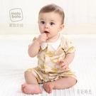 嬰兒連體衣夏季薄款純棉新生幼兒短袖夏男女寶寶衣服夏裝zt333 『美好時光』