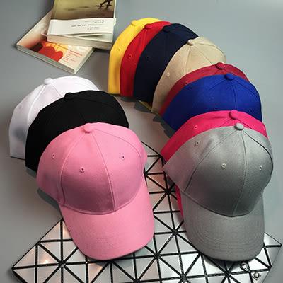棒球帽情侶款ManStyle潮流嚴選韓國純色素面多款情侶棒球帽滑板帽嘻哈帽街舞帽【02U0226】