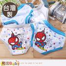 男童內褲(四件一組) 台灣製蜘蛛人正版純棉三角內褲 魔法Baby