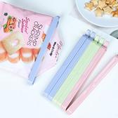 保鮮封口夾(3入) 食品袋 密封夾 食物 保鮮夾子 塑料袋 零食 保鮮夾【M165-1】米菈生活館