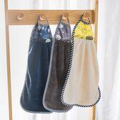 擦手巾加厚加大懸掛式速干不掉毛吸水素色干手巾布 科炫數位