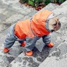 快速出貨狗狗雨衣全包小型犬泰迪雪納瑞巴哥斗牛犬雨天防水狗肚兜法斗