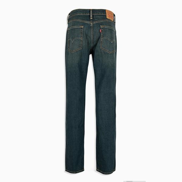 Levis 男款514 低腰合身直筒牛仔長褲 / 彈性布料 / 刷黃