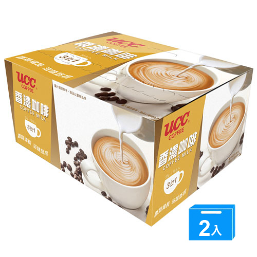 UCC香濃咖啡三合一25g*50*2【愛買】