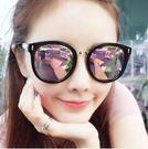 墨鏡女潮個性偏光太陽鏡圓臉眼鏡長臉HL4262『愛尚生活館』