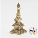 藏式裝臟(舍利)銅塔(5.5公分)【 十方佛教文物】
