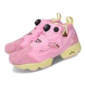 Reebok 休閒鞋 Instapump Fury OG MU 粉紅 黃 女鞋 BT21 聯名 COOKY 【ACS】 DV9877