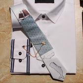 (好康免運)正裝領帶時尚窄領帶海洋鯊系列正裝休閒新郎禮物結婚聚會晚會趴正裝領帶