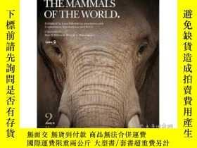 二手書博民逛書店Handbook罕見Of The Mammals Of The