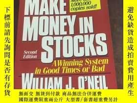 二手書博民逛書店How罕見to Make Money in Stocks 如何在股票上賺錢Y310739 William J