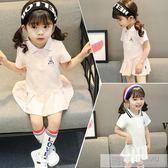洋裝 夏裝韓版女童連身裙兒童洋氣公主裙2019小童女寶寶學院風裙子 韓慕精品