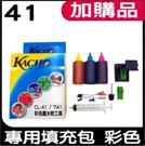 CANON 41 墨匣專用填充包 彩