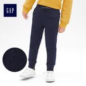 Gap男童 休閒鬆緊腰抽繩縮口褲 491891-海軍藍