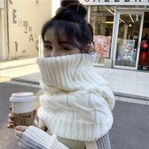 梨卡-保暖麻花針織套頭毛線針織大圍脖圍巾/3色BR199