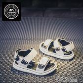 兒童涼鞋男 真皮兒童涼鞋男童鞋子韓版潮中大童小童男孩寶寶小孩夏季新款 新品