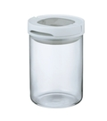 金時代書香咖啡 HARIO M 白色密封保鮮罐 200g MCNJ-200-W