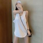 2020夏季新款外穿純色小背心性感無袖內搭打底衫寬鬆百搭上衣女裝 韓國時尚週