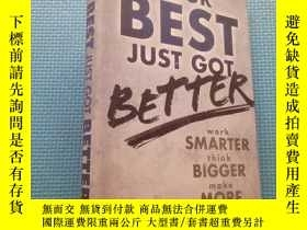 二手書博民逛書店YOUR罕見BEST JUST GOT BETTERY5834