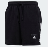 Adidas 男款黑色運動短褲-NO.FM6812
