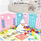 兒童門欄嬰兒學步游戲圍欄家用幼兒童室內安全寶寶玩具塑料防護柵欄wy