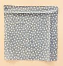 【震撼精品百貨】日本精品百貨~日本絲巾/手帕-藍小花#24081