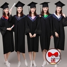 博士帽 學士帽 學位學士服批發畢業禮服定做大學生女學院風文工本科碩博士服帽袍