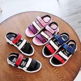男童鞋涼鞋2018新夏季正韓中大童小孩學生寶寶鞋女童鞋兒童沙灘鞋【寶貝開學季】