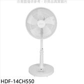 禾聯【HDF-14CH550】14吋DC變頻風扇立扇電風扇與HDF-14AH770同尺寸