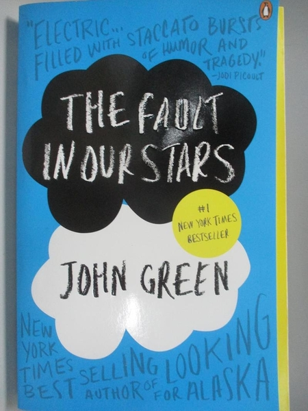 【書寶二手書T1/原文小說_AK3】The Fault in Our Stars_Green, John