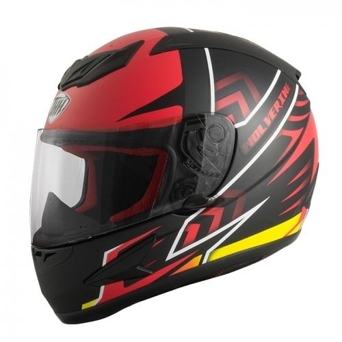 【東門城】THH T80 金鋼狼 (消光黑紅) 全罩式安全帽 雙D扣