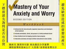 二手書博民逛書店Mastery罕見Of Your Anxiety And WorryY364682 Craske, Miche