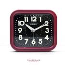 SEIKO日本精工 傳統型寧靜夜晚靜音紅色鬧鐘  品質穩定夜光功能 柒彩年代【NE1484】原廠公司貨