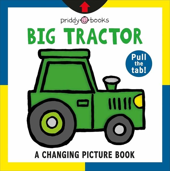 Big Tractor A Changing Picture Book 大拖拉車變色操作書(美國版)