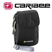 【Caribee 澳洲】RFID 防盜側背護照錢包『黑』CB-1414 登山.露營.側背包.護照包.證件包.手拿包