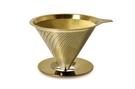 金時代書香咖啡 Driver[鈦]黃金流速濾杯(附底盤)1-2cup GB-TIG20336
