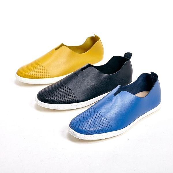 WALKING ZONE 中性女孩風休閒鞋 女鞋-藍(另有黑、黃)