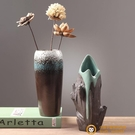 創意水培水養鮮花干花插花花瓶器皿裝飾品擺件【小獅子】