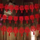 2020 新年 年節 過年佈置 春節裝飾 掛件 春節 吊飾 【 GOZ0299】