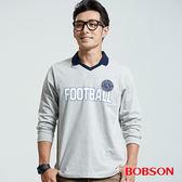 BOBSON 男款數字印圖上衣(36023-83)