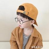 男童棒球帽春秋女童嬰兒寶寶兒童帽子潮夏遮陽薄款防曬韓版鴨舌帽 漾美眉韓衣
