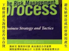 二手書博民逛書店The罕見Risk Management Process(風險管