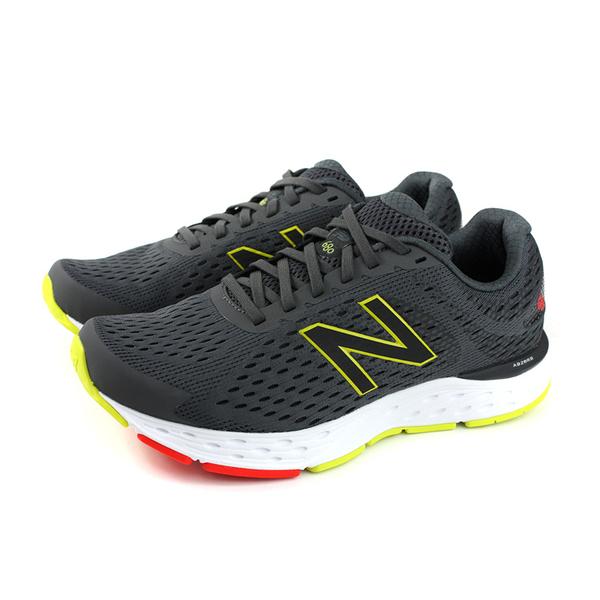 NEW BALANCE 680系列 跑鞋 運動鞋 灰色 男鞋 超寬楦 M680CP6-4E no731