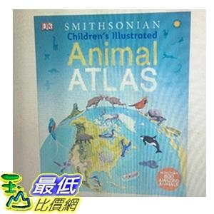 [COSCO代購] W1195646 DK 世界地圖童書 ( 外文書 ) Ill Animal Atlas