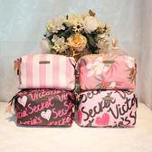 化妝包 大容量 簡約女手拿式袋隨身旅行洗漱 收納包 DR2845【男人與流行】