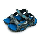 LIKA夢 LOTTO 專業防踢運動涼鞋 野趣戶外系列 灰黑藍 5216 男